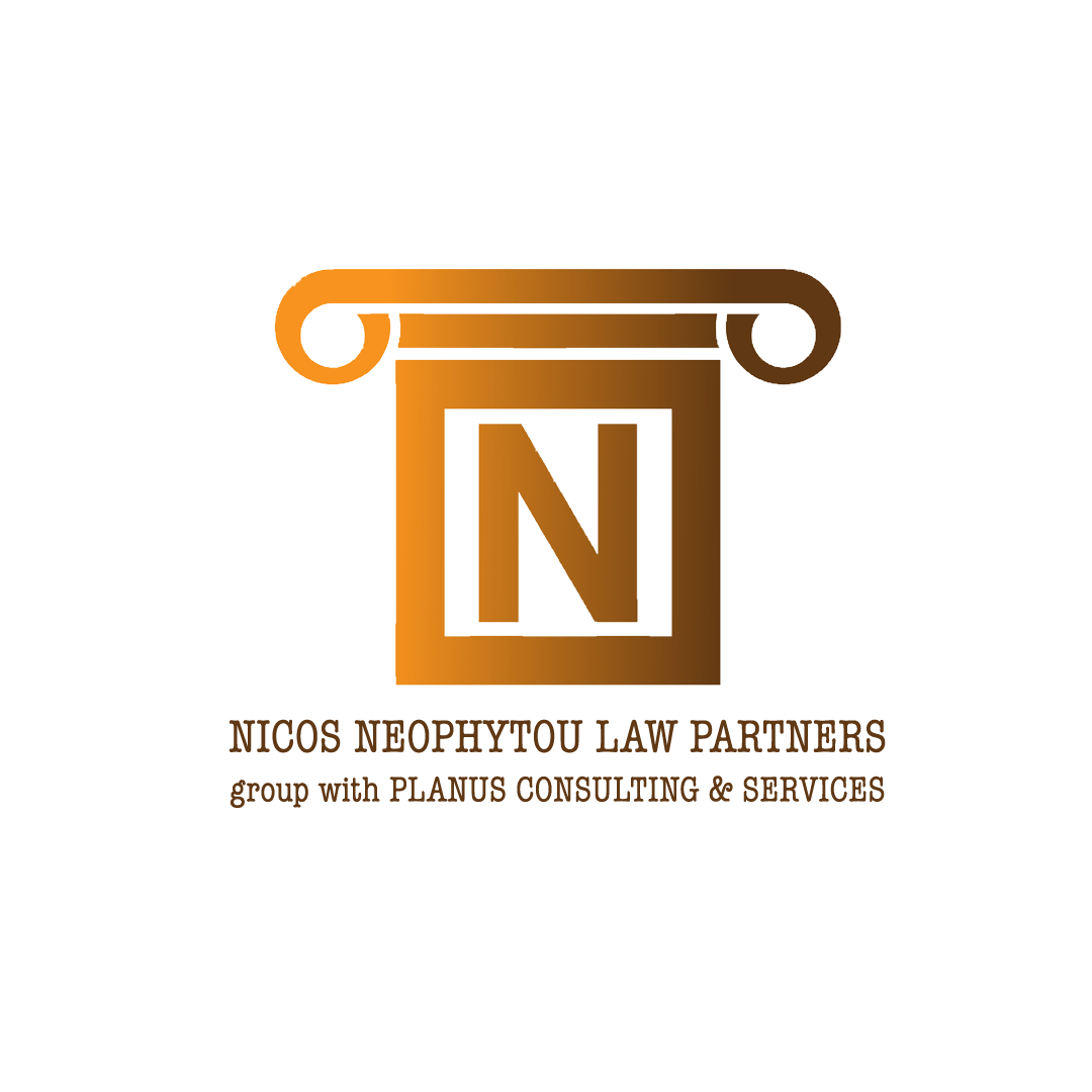 NICOS NEOPHYTOU LAW PARTNERS group with PLANUS CONSULTING & SERVICES logo